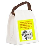 CLEVEland baseball Canvas Lunch Bag