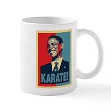 Barack Obama Karate Mug