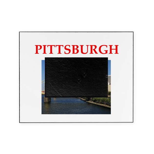 PITTSBURGH Picture Frame by politicsisfun