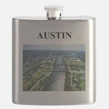 austin texas gifts Flask