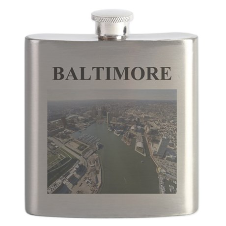 baltimore gifts Flask