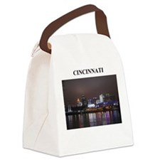 CINNCINATI ohio gifts Canvas Lunch Bag