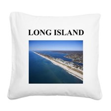 long island gifts Square Canvas Pillow