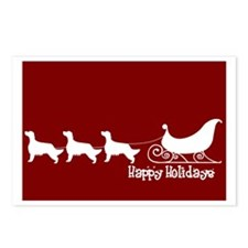 "English Setter ""Sleigh"" Postcards (Package of 8)"
