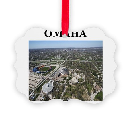 omaha nebraska gifts Picture Ornament