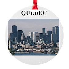 QUEBEC canada gifts Ornament
