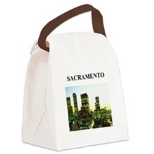 SACRAMENTO california gifts Canvas Lunch Bag