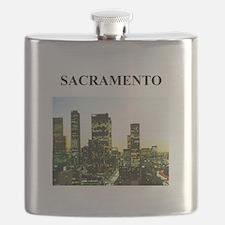 SACRAMENTO california gifts Flask