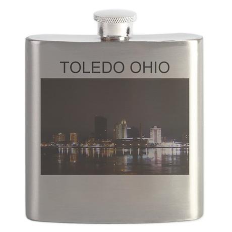 Toledo ohio gifts t-shirts Flask