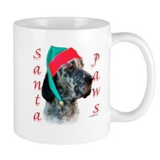 Santa Paws English Setter Mug