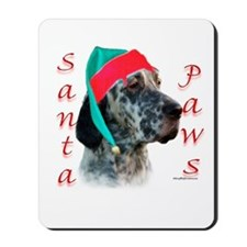 Santa Paws English Setter Mousepad