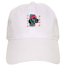 Santa Paws English Setter Baseball Cap