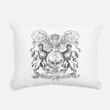 Vintage Cullen Crest Rectangular Canvas Pillow
