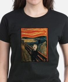 Ferret Scream Munch T-Shirt