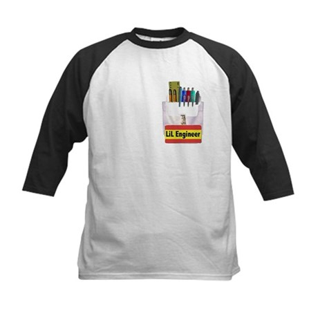 LIL Engineer Kids Baseball Jersey
