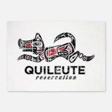 Quileute Reservation 5'x7'Area Rug