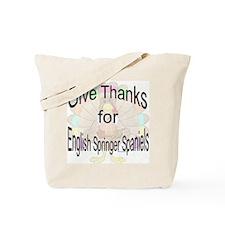 Thanks for Springer Spaniel Tote Bag