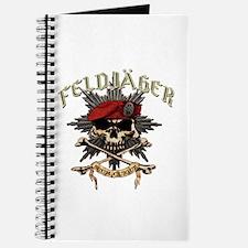 Deutsch Feldjager mit Sterne Journal