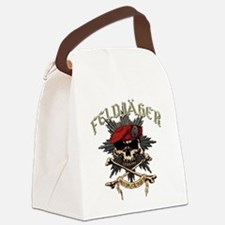 Deutsch Feldjager mit Sterne Canvas Lunch Bag
