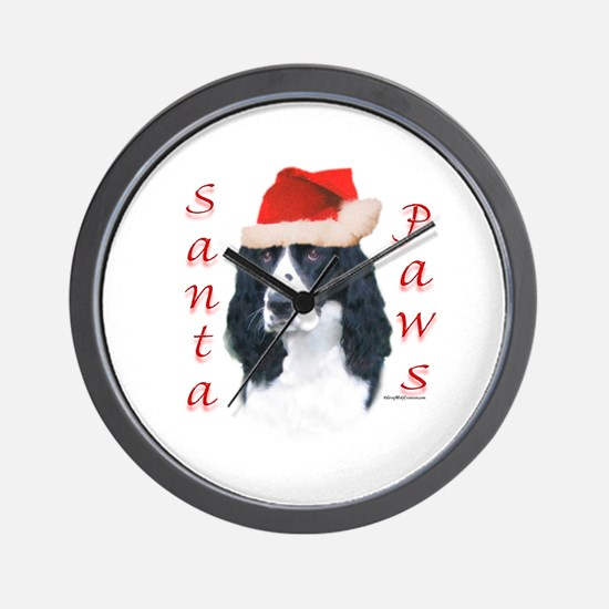 Springer Paws Wall Clock
