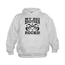 My Big Brother Rocks Hoodie