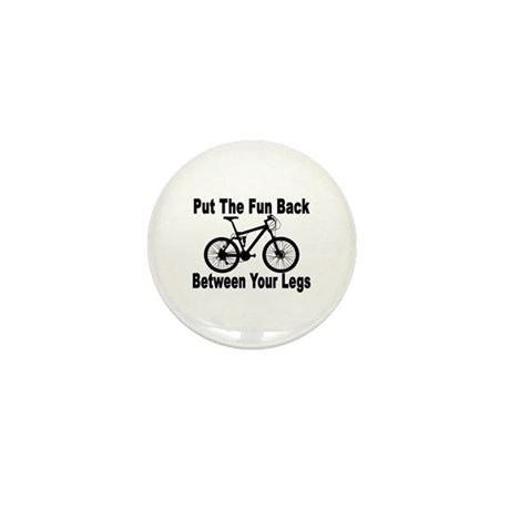 Fun Between Your Legs Mini Button