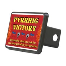 Pyrrhic Victory Hitch Cover