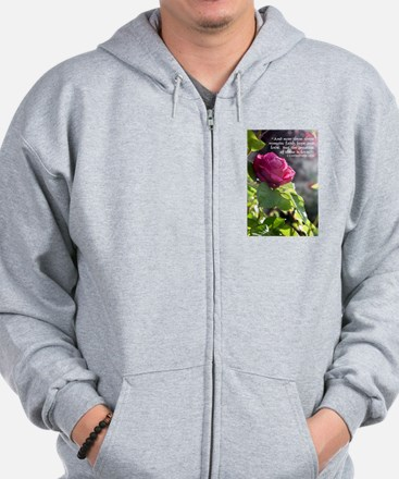 The Greatest of These is Love Zip Hoodie