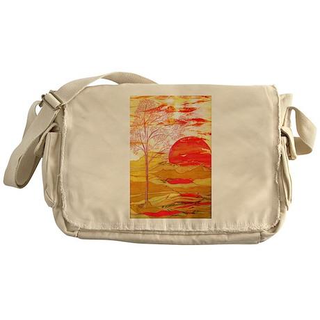 Autumn Afternoon Messenger Bag