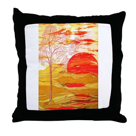 Autumn Afternoon Throw Pillow