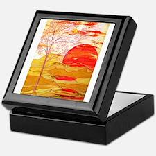 Autumn Afternoon Keepsake Box