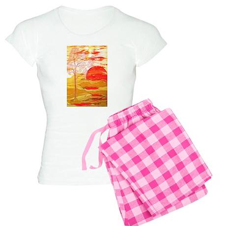 Autumn Afternoon Women's Light Pajamas