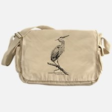 Great Blue Heron Messenger Bag