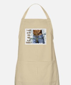 I could go the SUB WAY to get THERE !? Apron