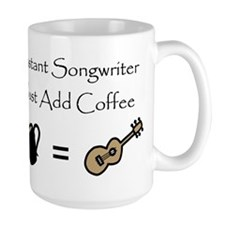 Instant Songwriter Coffee Cup Mugs