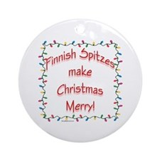 Spitz Merry Ornament (Round)