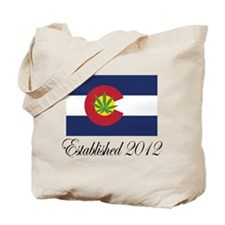 Colorado Cannabis Flag 2012 Tote Bag