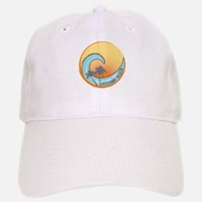 Rockaway Beach Sunset Crest Baseball Baseball Cap