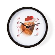 Spitz Paws Wall Clock