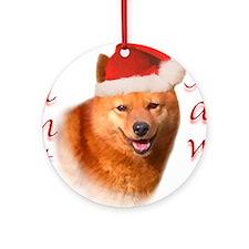 Spitz Paws Ornament (Round)