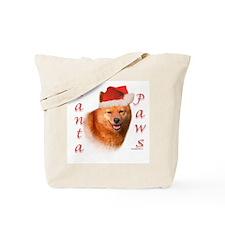 Spitz Paws Tote Bag