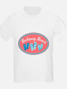 Rockaway Beach Sandal Badge T-Shirt