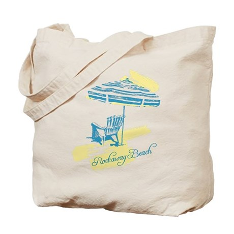 Serenity Rockaway Beach Tote Bag