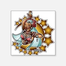 Belly Dancer, Tribal Rose, Dark complexion Square