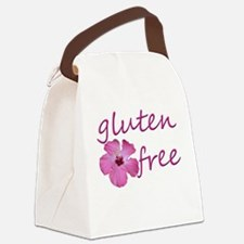 Gluten-Free Hibiscus Canvas Lunch Bag