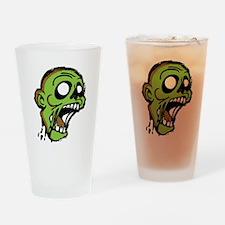 Zombie Head Drinking Glass