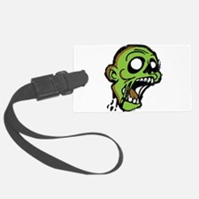 Zombie Head Luggage Tag
