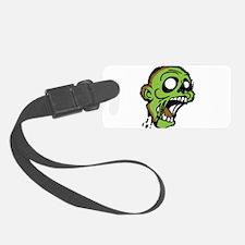 Zombie Head Luggage Tag