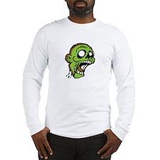 Zombie Head Long Sleeve T-Shirt