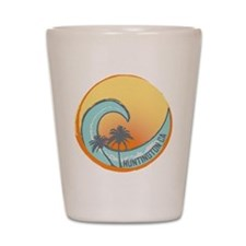 Huntington Beach Sunset Crest Shot Glass